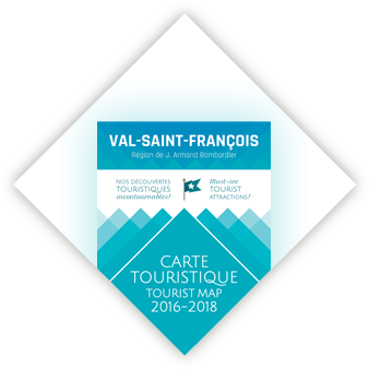Carte touriste Val St-François