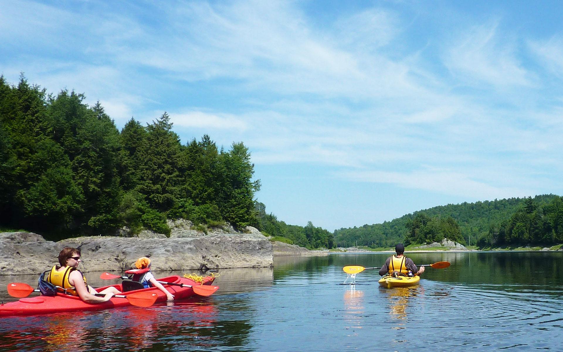Balade en Kayak